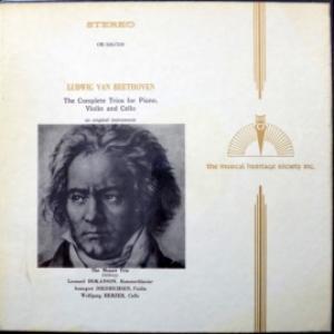 Ludwig van Beethoven - The Complete Trios For Piano, Violin & Cello