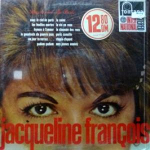 Jacqueline Francois - Sous Le Ciel De Paris