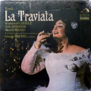 Giuseppe Verdi - La Traviata feat. Montserrat Caballé, Carlo Bergonzi, Sherrill Milnes, Georges Prêtre...