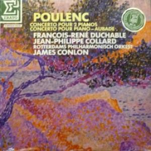Francis Poulenc - Concerto Pour 2 Pianos - Concerto Pour Piano - Aubade