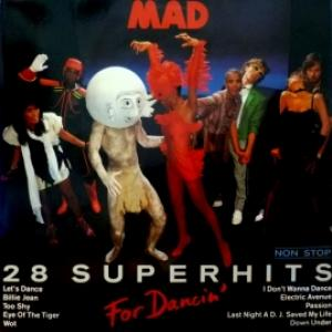 MAD - For Dancin' - 28 Superhits Nonstop (produced by Frank Farian)