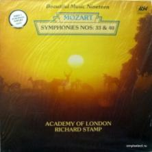 Wolfgang Amadeus Mozart - Symphonies Nos: 33 & 40