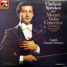 Wolfgang Amadeus Mozart - Vladimir Spivakov Plays Mozart Violin Concertos No.2, No.5