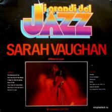 Sarah Vaughan - I Grandi Del Jazz