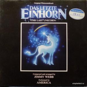 America - The Last Unicorn / Das Letzte Einhorn - Original Soundtrack
