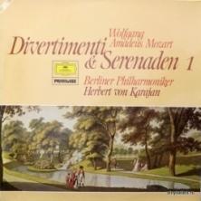 Wolfgang Amadeus Mozart - Divertimenti & Serenaden 1 (feat. Herbert Von Karajan & Berliner Philharmoniker)