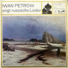 Iwan Petrow (Иван Петров) - Singt Russische Lieder