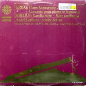 Edvard Grieg / Jean Sibelius - Piano Concerto In A Minor / Karelia Suite