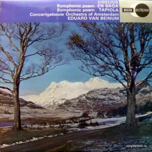 Jean Sibelius - En Saga - Symphonic Poem, Op.9 / Tapiola - Symphonic Poem, Op.112