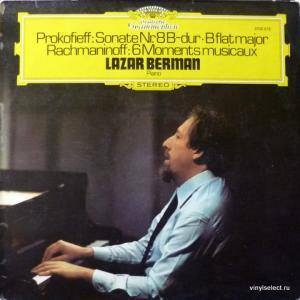 Lazar Berman (Лазарь Берман) - Prokofieff - Klaviersonate Nr. 8 B-dur / Rachmaninoff - 6 Moments Musicaux