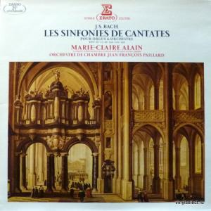 Johann Sebastian Bach - Les Sinfonies De Cantates Pour Orgue & Orchestre