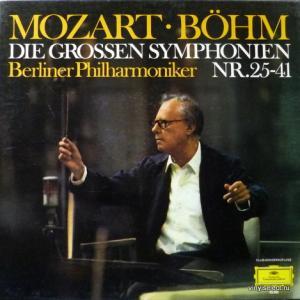 Wolfgang Amadeus Mozart - Die Grossen Symphonien Nr.25-41 (Karl Böhm & Berliner Philharmoniker)