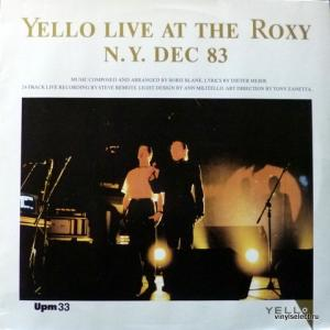 Yello - Live At The Roxy N.Y. Dec 83