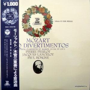 Wolfgang Amadeus Mozart - Cinq Divertimentos Pour Hautbois, Clarinette Et Basson, KV 229, №1-5