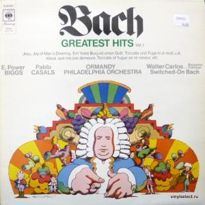 Johann Sebastian Bach - Bach's Greatest Hits Vol. 1 (feat. E.P.Biggs, P.Casals, W.Carlos, E.Ormandy)