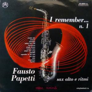 Fausto Papetti - I Remember... N°1