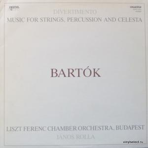 Béla Bartók - Music For Strings, Percussion & Celesta Sz. 106 / Divertimento For Strings Sz. 113