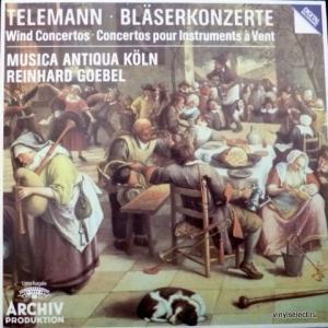 Georg Philipp Telemann - Bläserkonzerte (Wind Concertos)