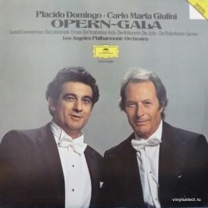 Placido Domingo - Opern-Gala (feat. Carlo Maria Giulini & Los Angeles Philharmonic Orchestra)