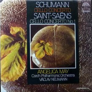 Robert Schumann / Camille Saint-Saens - Cello Concerto / Cello Concerto No.1 (feat. Angelica May)