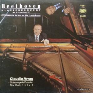 Ludwig van Beethoven - Klavierkonzerte - Nr.3 c-moll op.37 / Klaviersonate Es-dur op.81a (feat. Claudio Arrau)