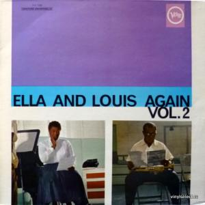 Ella Fitzgerald And Louis Armstrong - Ella And Louis Again Vol. 2