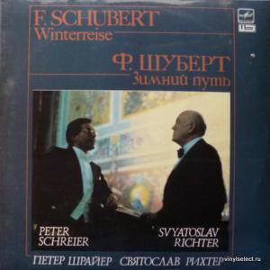 Franz Schubert - Winterreise / Зимний Путь, Вокальный Цикл На Слова В.Мюллера (feat. S.Richter, P.Schreier)
