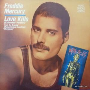Freddie Mercury - Love Kills (Extended Version) (produced by Giorgio Moroder)