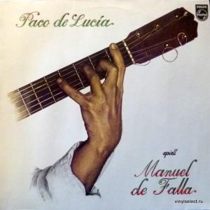 Paco De Lucía - Spielt Manuel De Falla