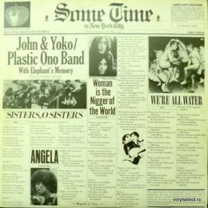 John Lennon And The Plastic Ono Band - Some Time in New York City
