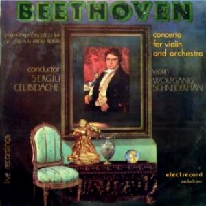 Ludwig van Beethoven - Symphony Orchestra Of The RAI From Roma / Concerto For Violin And Orchestra