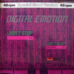Digital Emotion - Don't Stop