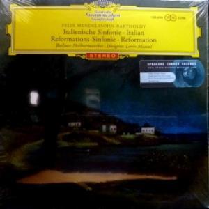 Berliner Philharmoniker (feat. Lorin Maazel Conducts) - Felix Mendelssohn-Bartholdy: Italienische Sinfonie / Reformations-Sinfonie