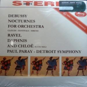 Detroit Symphony Orchestra (feat. Paul Paray Conducts) - Debussy: Three Nocturnes For Orchestra Neages-Fetes-Sirenes / Ravel: Daphnis And Chloe Suite No.2