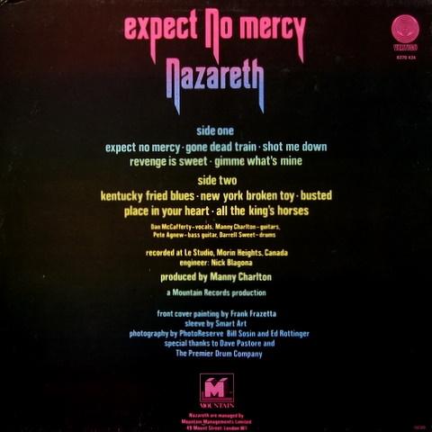 Nazareth - expect no mercy / the catch