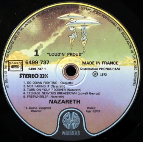 983 nazareth loudnproud 1973 vertigo fra ex+\\mint